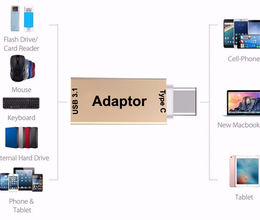 USB Type C to USB 3.0 Adapter