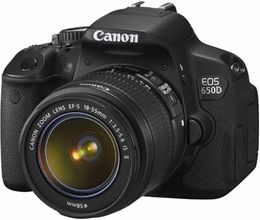 Canon Digital camera 650D KIT 18-55 IS