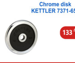 Chrome Rubber Weight Disk 15 Kg
