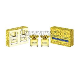 Qadın ətri Versace Yellow diamond EDT 2X30ml DUO