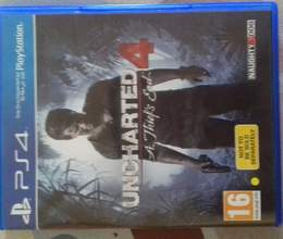 PS4 oyun diski UNCHARTED 4 A Thief's End
