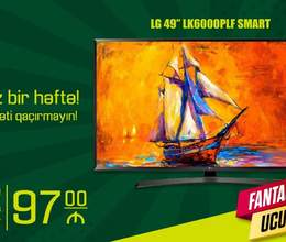 Kampaniya Yalniz 1 Hefte LG 123 Ekran Full HD Smart Tv LED