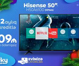 Hisensel 127sm Ekran 4K Smart TV LED