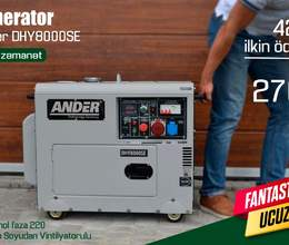 Generator Ander DHY8000SE