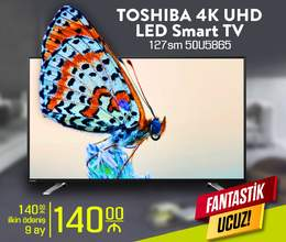 TOSHIBA 4K UHD LED Smart TV