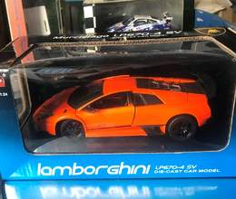 Коллекционная модель  Lamborghini Murcielago LP670-4 SV Orange metallic 2009