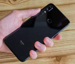 Xiaomi Redmi Note 7 Black, 64GB