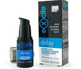 """Excite delay gel"""