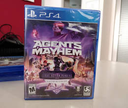 "PS4 üçün ""Agents of Mayhem"" oyunu"