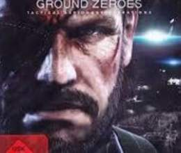 "PS4 oyunu ""Metal Gear Solid V Ground Zeroes"""