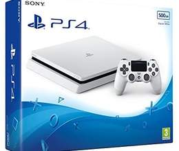 Ps4 slim white edition