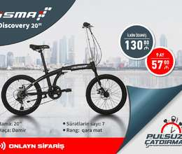 Velosiped İsma Discovery 20