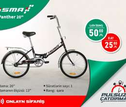 Velosiped İsma Panther 20