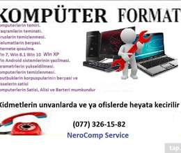 Formatlamisi WIN7 WIN10 WIN ANDROID