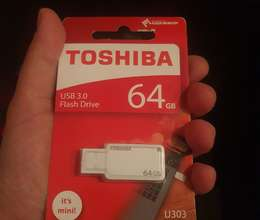 Toshiba Mini Flaşkart 64 Gb usb 3.0 Made in Japan