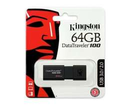 Fləşkart Kingston 64 GB Usb 3.0 DT100 G3 Brendin adı : Kingston